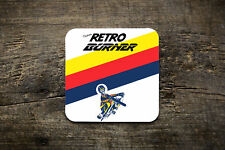 Retro Burner Coaster - Bike Ninja MTB Cycling Retro