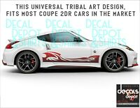 Fits Nissan 350Z, 370Z Coupe Sports Nismo Touring Convertible 2X Side Stripes