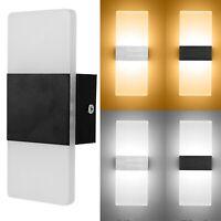 LED Wall Light Cube Sconce Lamp Bulb Home Decor Indoor Outdoor 3W 110V 220V K953