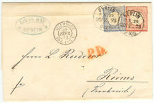 Germany cover 1873 Berlin to Reims - Champagne Roederer - Extremely fresh
