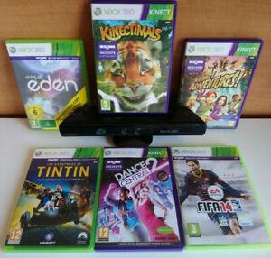 Kinect XBOX 360 + 6 jeux spécial kinect