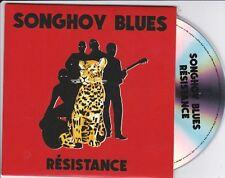 SONGHOY BLUES RESISTANCE RARE 12 TRACK PROMO CD [IGGY POP / ELF KID]