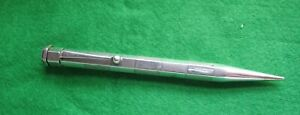 PRE 1937 STERLING SILVER HEXAGONAL YARD-O-LED PROPELLING PENCIL