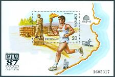 España bloque 31 de sellos exposición Exfilna'87 **