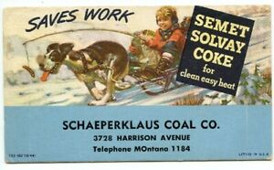 1944  SCHARPERKLAUS COAL & COKE CO.