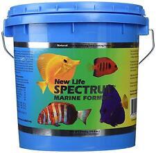 NEW LIFE SPECTRUM MARINE FORMULA  2000 GM  1 mm SINKING FISH FOOD PELLETS  NLS