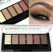TECHNIC - BRONZE - 6 Shade Eyeshadow Palette - BROWN - CREAM - COPPER -