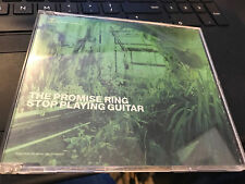 "The Promise Ring ""Stop Playing Guitar"" 3 track cd MINT"