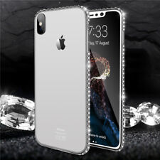 Luxury Bling Glitter Soft Diamond TPU Case Cover For iPhone 6 8 Plus X XR XS Max