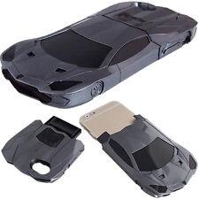 Estuche Carro Negro Para Apple iPhone 6 Plus y 6S Plus Funda de Celular