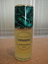 Rare Vintage Jean Couturier CORIANDRE EDT Perfume HUGE 4 oz Spray Coriander