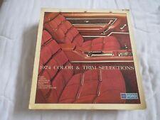 1974 FORD MUSTANG II GRAN TORINO TBIRD BRONCO F-SERIES DEALER ALBUM SHEETS SET