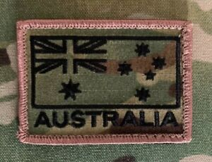 Multicam, Australian Flag, ANF, Army, ADF, SAS, Australia, Military, Patch.