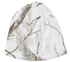 White Camo Camouflage Realtree AP Beanie Hat Hunting Skiing Snowboarding