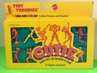 1986 MATTEL C.U.T.I.E. ACTION FIGURES CUTIE NIB MOC TINY TRENDIES FASHION MODELS