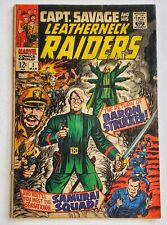 CAPTAIN SAVAGE AND HIS LEATHERNECK RAIDERS #2 VG/F, Marvel Comics 1968