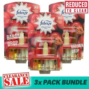 Febreze 3voution Refills Plug In Spiced Apple Ambi Pur 20ml