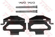 pfk246 TRW Kit de accesorios, Pastillas Freno de disco Eje delantero