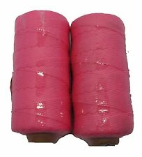 Bricklayers Quality 152 Meters x 1.8mm Fluorescent Pink Brick Line x 2 BL019