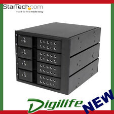 STARTECH 4 Bay AluminumTrayless Hot Swap Mobile Rack Backplane for 3.5in SAS III