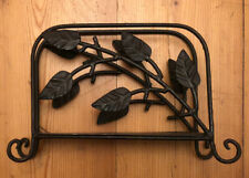 Decorative Vintage Type Metal Leaf Letter Rack - Stationery