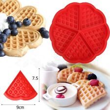 5-Cavity Cookie Muffin Silicone Mould Chocolate Pan Waffles Mold Baking Mold