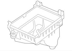 12-19 Jeep Grand Cherokee SRT 6.4L Air Cleaner Body Housing Factory Mopar New