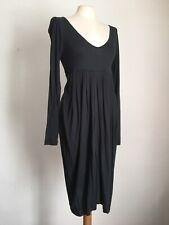 NOA NOA Dark Grey Fine Jersey Long Sleeved Dress Size XS