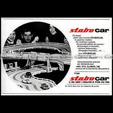 STABO CAR 1967 CIRCUIT SLOT CAR RACING VINTAGE - Pub Publicité Ad Advert #B693