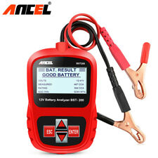 12V Digital Battery Load Tester Car AGM GEL Battery Analyzer Tool 100-1100CCA