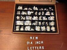 """3/4"""" Plastic Letter Kit"""