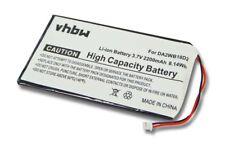 BATTERY 2200mAh for Iriver H-340 H340 DA2WB18D2 Accu