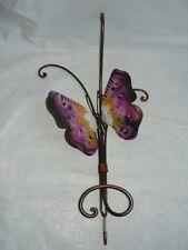 Attaccapanni appendiabito farfalla in ferro battuto 1p.