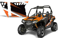 AMR Racing Graphic Decal Kit Pro Armor Doors Polaris RZR-S 900/800 Part OMAD HO