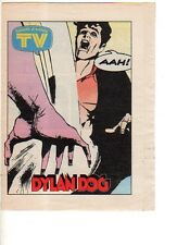 Dylan Dog allegato a Tv sorrisi e canzoni 1992