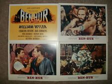 BEN-HUR (Charlton Heston) MGM - Set completo di Eight Lobby Figurine