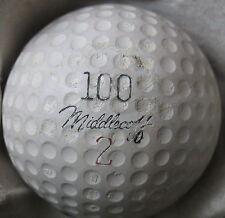(1) Cary Middlecoff Signature Logo Golf Ball (100 Cc Liq Ctr Cir 1959) #2