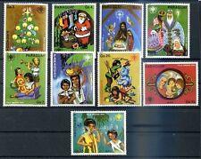 PARAGUAY - CHRISTMAS Mi # 3304/12 Complete Set MNH, VF