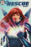 2020 Rescue #1 Jen Bartel Variant Marvel Comics 2020