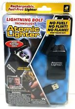 Atomic Lighter - With Lightning Bolt Technology - N0 Fuel/Flame/Flint