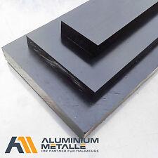 Polyamid Platte 10mm schwarz PA6 Breite / Länge wählbar Zuschnitt Kunststoff