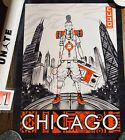"""JORDAN """"UNITE"""" 24"""" X 18"""" LIMITED EXCLUSIVE POSTER - 2020 ALL-STAR CHICAGO - CUDO"""