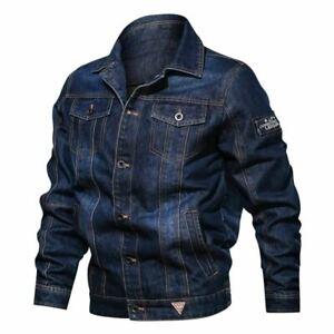 Newest Men Spring Autumn Denim Jacket High Quality Jeans Jackets Male Fashion Mu