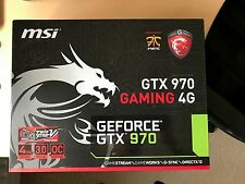 MSI NVIDIA GeForce GTX 970 (4096 MB) (GTX 970 Gaming 4G Scheda grafica)