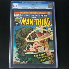 Adventure Into Fear #19 💥 CGC 6.0 💥 1st HOWARD the DUCK! Man-Thing Comic 1973