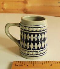 Vintage Miniature GERZ TankardBeer Stein from West GermanyCeramic Mini Mug Cup