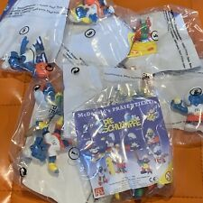 Schlümpfe McDonalds Set Happy Meal MIP OVP 40 Years Komplett Smurfs 8 Figuren