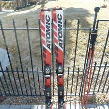 New listing Atomic Race 6 Bode Miller kid's jr skis 120cm, Marker 106-65-86=9.5m