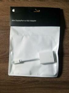 2008 : Apple Brand - Mini DisplayPort to VGA Adapter - MB572Z/A *NEW*