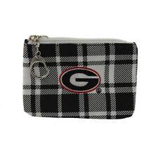 Licensed University Georgia UGA Bulldogs Spirit Ready ID Coin Purse Key Chain